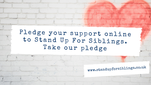 Launch of Stand Up For Siblings