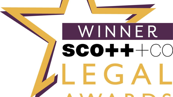 Winners of Pro Bono Award at Scottish Legal Awards 2017